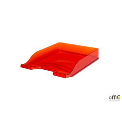 Półka na dokumenty przezroczysta czerwona 100553687 BANTEX