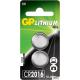 Bateria litowa GP CR2016 U2 3.0V GPPBL2016082