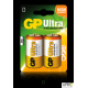 Bateria alkaliczna GP ULTRA LR20/D 1.5V GPPCA13AU005