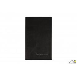 Wizytownik BIURFOL na 200 wizytówek standard czarny WI-21-01