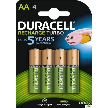 Akumulatorek AA 2500mAh B4 (4szt.) DURACELL 4620140