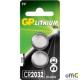 Bateria litowa GP CR2032-U2 3.0V GPPBL2032094