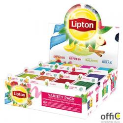 Herbata LIPTON Variety Pack - 12 smaków x 15 kopert fol. czarna