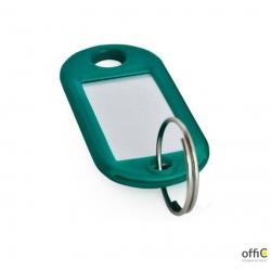 Zawieszka / zawieszki do kluczy 100 sztuk kolor zielony  ARGO  607145