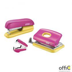 Zszywacz F5 i Dziurkacz FC10 RAPID No10 10kartek różowy/żółty 5000371