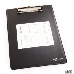 Clipboard A4, PCV Czarny 235001 DURABLE