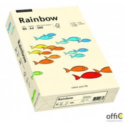 Papier xero kolorowy RAINBOW kremowy R03 88042249