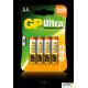 Bateria alkaliczna GP Ultra AA / LR6 (4szt) 1.5V GPPCA15AU017