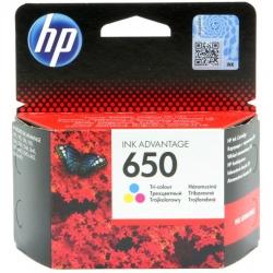 Tusz HP 650 do Deskjet 1015/1515/2515/3515/3545/4645  200 str.  CMY