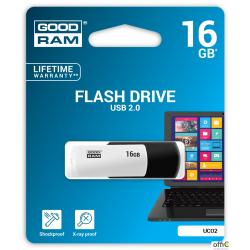 Pamięć USB GOODRAM 16GB UCO2 czarno-biały USB 2.0 UCO2-0160KWR11
