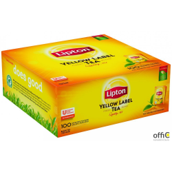 Herbata LIPTON Yellow Label (100 kopert fol.) czarna