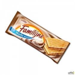 Wafle FAMILIJNE Śmietankowo-Kakaowe 180g JUTRZENKA