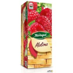 Herbata HERBAPOL HERBACIANY OGRÓD MALINA FIX (20 saszetek)