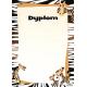 Dyplom MADAGASKAR 170g  (25) 212217 ARGO
