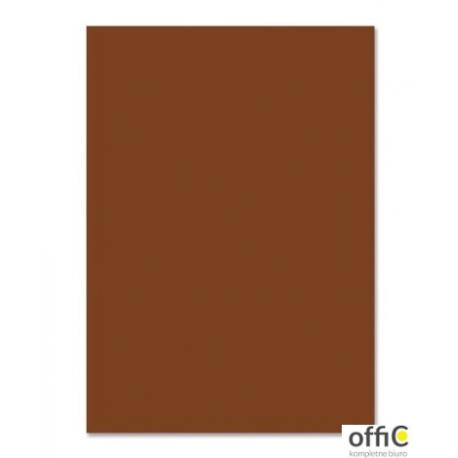 Brystol 220g, B2, czekoladowy (25szt) 3522 5070-75 Happy Color