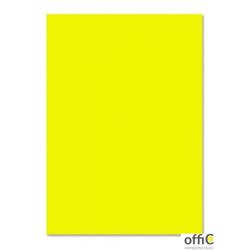 Brystol 220g, B1, cytrynowy (25szt) 3522 7010-12 Happy Color