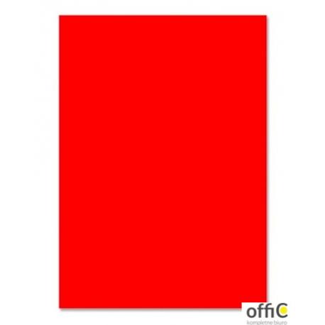 Brystol 220g, B1, czerwony (25szt) 3522 7010-2 Happy Color