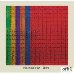 Karton A2 250gr.holographic-sfinks mix (24) CORMORAN *7848