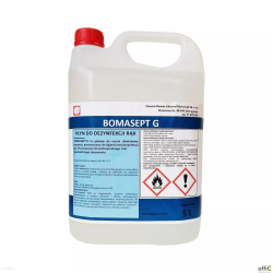Płyn do dezynfekcji rąk 5l BOMASEPT G alkohol 70% gliceryna 5% medyczny 8%VAT