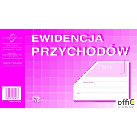 R-1 Ewidencja przychodów (album) A5 MICHALCZYK&PROKOP