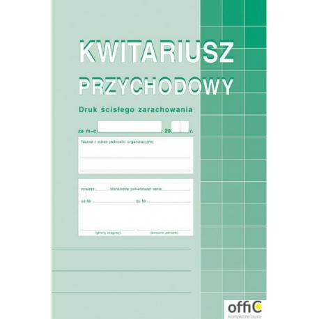 400-3 Kwitariusz MICHALCZYK&PROKOP A5 60 kartek