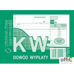 402-5 KW Dowód Wypłaty MICHALCZYK&PROKOP A6 80 kartek