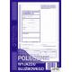 505-3 Polecenie wyjazdu służbowego MICHALCZYK&PROKOP A5 40 kartek