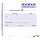 507-6 Karta urlopowa MICHALCZYK&PROKOP 2/3 A6 40 kartek