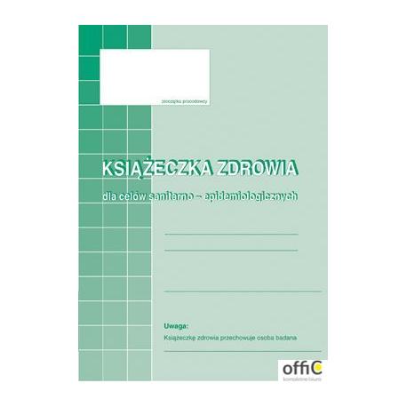 530-5 Książeczka zdrowa MICHALCZYK&PROKOP A6 16 stron
