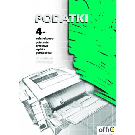 F131-2 Pol.prze.PODATKI A4 1+3 1 100szt (stary F-121-2)