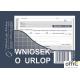 515-5 Wniosek o urlop MICHALCZYK&PROKOP A6 40 kartek