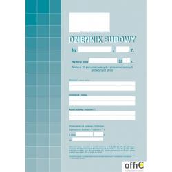 603-1 Dziennik budowy MICHALCZYK&PROKOP A4 album 20 stron