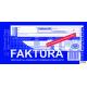 105-8N/E Faktura pełna dla prowadzących sprzedaż w cenach netto 1/3A4