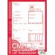 800-1N CMR A4 80kartek 1+3 numerowany międzynarodowy list przewozowy M&P