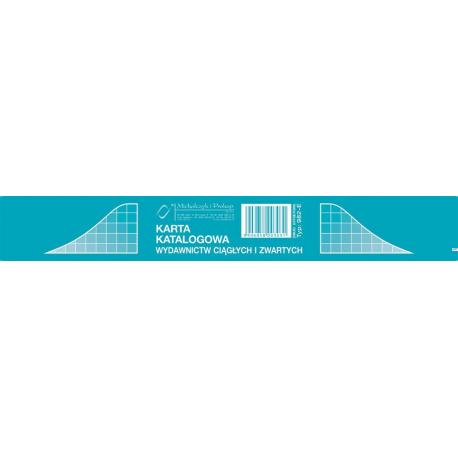 982-E Karta katalogowa(1kpl 50 szt)MICHALCZYK i PROKOP