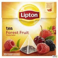 Herbata LIPTON PIRAMID FOREST FRUIT owoce leśne (20 saszetek)