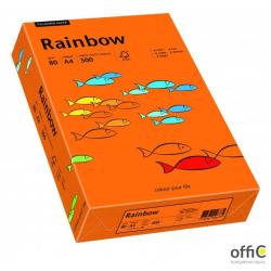 Papier xero kolorowy RAINBOW ciemnopomarańczowy R26 88042453