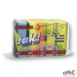 Zmywaki gąbka do zmywania Maxi (5 szt.) TAK! *78623