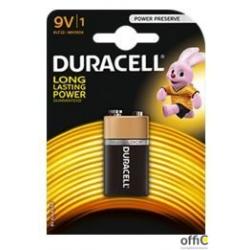 Bateria Basic 9V K1 DURACELL 4520117  6LR61