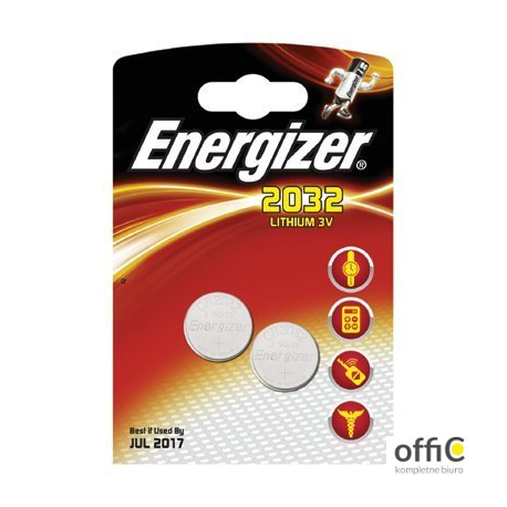 Bateria litowa ENERGIZER CR2032 (2szt)