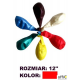 Balony 12 METALIK czerw.(100) KW TRADE 170-1588