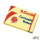 Bloczki samoprzylepne ESSELTE 75x50mm żółte 100k 83005