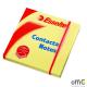 Bloczki samoprzylepne ESSELTE 75x75mm żółte 100k 83003