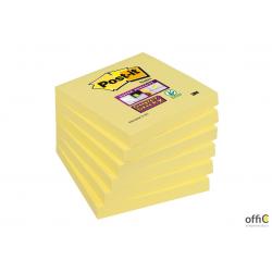 Bloczek 3M POST-IT 76x76mm żółty 90k Super Sticky 70005197911