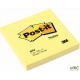 Bloczek 3M POST-IT 654 76x76mm żółte 100k FT510060518