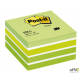 Bloczek 3M POST-IT 2028-G 76x76mm zielony 450k FT510093238