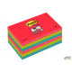 Bloczki 3M POST-IT 76x127mm BORA BORA 6x90k Super Sticky 70005253524
