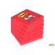 Bloczki 3M POST-IT 76x76mm różowe Super Sticky 6x90kartek 70005198125