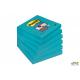 Bloczki 3M POST-IT 76x76mm niebieskie Super Sticky 6x90kartek 70005253284