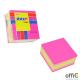 """Bloczek STICK""""N 51x51mm różowy-mix neon i pastel 21533"""